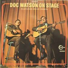 """DOC WATSON """"ON STAGE"""" feat.Merle Watson  2 lp mint"""