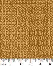 Benartex Ho Ho Ho by Nancy Halvorsen 3292 70 Faun Frosted Window Cotton Fabric