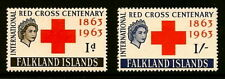 FALKLAND ISLANDS #147-8 MLH RED CROSS CPL. - CV$23.00
