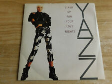 "Yazz Stand Up For Your Love Rights 7"" P/S Single Big Life 1988 Ex Condition.."