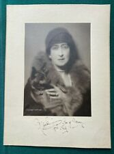 More details for antique british royal photo signed king edward vii queen maude norway & dog 1922