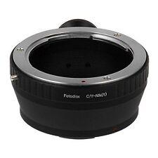 Fotodiox objetivamente adaptador Contax/Yashica (CY) lente para Nikon 1 camera body