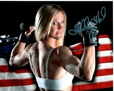 HOLLY HOLM Signed UFC MMA ATF Photo w/ Hologram COA