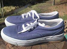 Keds Stretch Women's Navy Blue Denim Platform Fashion Sneaker Shoes Size 8M US