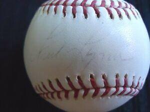 Fred Lynn, Autographed Rawlings MLB Baseball, Boston Red Sox, outfield