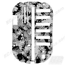 Tamiya Bathtub Chassis TT01 51001 Protector Graphics Thick - Digital Camo White