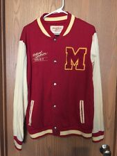 Michael Jackson Rare Varsity Thriller Jacket Size Medium This Is It Vintage