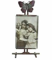 Bilderrahmen Antik Fotorahmen Metallrahmen für Fotos Rahmen shabby chic Rahmung