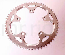 DRIVELINE 10,11 speed, Road Bike - Racing Chainring 60T BCD 130MM Silver