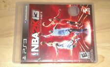 NBA 2K13 Featuring Jay Z (PS3, 2012) Tested and Working