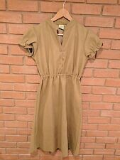 Shabby Apple Dress 100% Wool Beige Womens Size XS