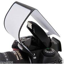 Mini Fold Away Camera Pop Up Flash Diffuser for Canon Nikon Universal Fits New!