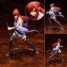 Fairy Tail Erza Elza Scarlet Battle ver. Kimono 1/7 Scale Figurine Figure No Box
