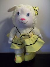 1984 The Get Along Gang Plush TOY DOLL Woolma Lamb Sheep Tomy American Greetings