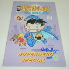 Patrick the Wolf Boy Superhero Special Comic SIGNED Art Baltazar 2002 BlindWolf