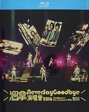 Never Say Goodbye - The Wynners Live in Concert 2016 Region FREE Blu-ray
