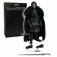 "1/6 Scale 12"" Game Of Thrones Jon Snow Action Figure ThreeA 3A Threezero Toys"