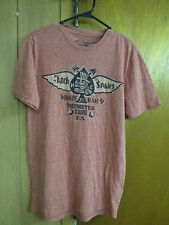 LUCKY BRAND T-SHIRT  JACK OF SPADES WHISKEY BAR MOTORCYCLE CLUB LA. SIZE  Small