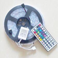 5M IP68 Waterproof Tube 5050 300Led RGB LED light strip For pool+44Key IR Remote
