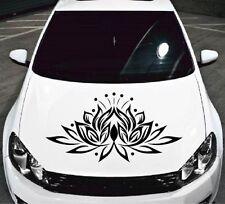 Lotus Flower Nature Vinyl Decal Car Hood Sticker Any Vehicle Auto Decor 1028
