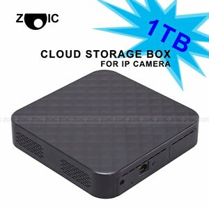 1TB 4CH Super Practical Storage Cloud Box For IP WIFI Camera Home CCTV System