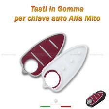TASTIERA PAD PULSANTI GOMMA CHIAVE TELECOMANDO 3 TASTI ALFA ROMEO MITO GTO 159