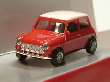 Herpa Mini Cooper, rot weißes Dach, Neuauflage 2020 - 420471 - 1:87