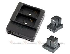 USB Hot Dual Channel Battery Charger For Gopro HD Hero 3 Hero 3+AHDBT - 201 301