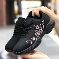 Women's Walking Shoes Outdoor Breathable Athletic Running Tennis Sneakers Gym