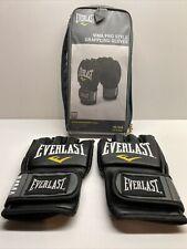 Everlast Pro Style Grappling MMA Gloves - Regular (S/M) - Black