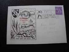HERM ISLAND - enveloppe 17/9/1962 (B10)