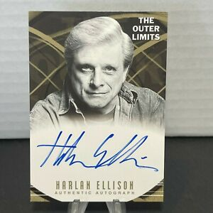 The Outer Limits Premiere Edition A18 Harlan Ellison Autograph NM-MINT or Better