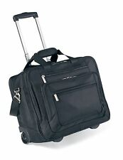 "Travis & Wells Wheeled 17"" Laptop / MacBook Pro Briefcase Business Bag - New"