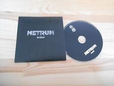 CD Indie catturato-Broken (1) canzone presskit Silver Sonic/FROG Queen