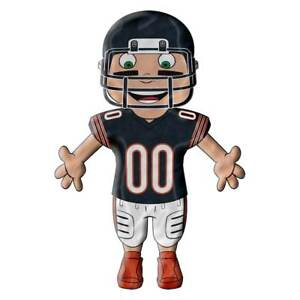 Chicago Bears NFL Player Full Body Cloud Pillow Pals, New With Tags