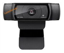 Logitech HD Pro Webcam C920, Widescreen Video Calling and Recording, 1080p...