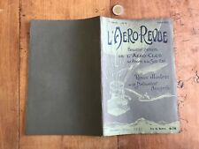 l aero revue numéro 4 1907