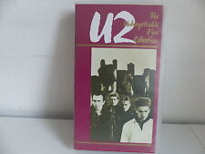 K7 Video VHS U2 The unforgettable fire collection 082 974 3