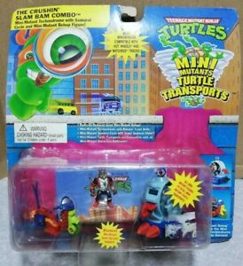 Mutant Turtles Mini Turtle machine 3 turtle Transports TAKARA Playmates