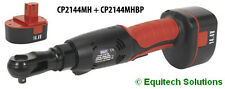 """Sealey Tools CP2144MH 3/8"""" Drive 14.4V Cordless Ratchet Wrench with 2 Batteries"""