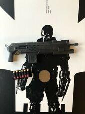 Figuras de arte aidol 3 cartuchos de escopeta & de la guerra civil Calavera Suelto Escala 1/6th