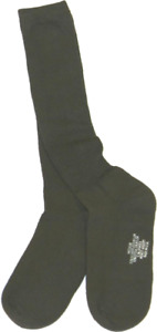 Military Issued OD Green Anti-Microbial Boot Sock 3-Pack-NEW