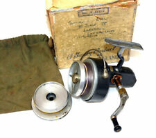 Hardy Altex No 3 mk5 vintage spinning reel & spare spool & box salmon pike carp