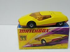 Vintage Matchbox Lesney Superfast No 33 DATSUN 126X