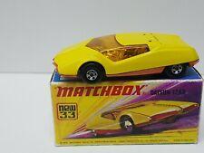 Vintage Matchbox Lesney Superfast No 33 DATSUN 126X