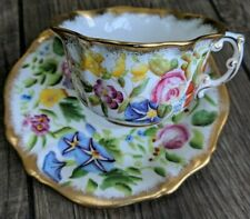 More details for hammersley chintz queen anne duo cup and saucer