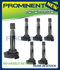 Set of 6 Ignition Coils UF242 For 99-10 Honda Accord Odyssey 3.0L 3.2L 3.5L V6