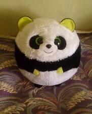 """TY BONSAI PANDA Fat Ball Plush Toy Stuffed Animal  Soft  Pillow Cushion  36"""""""