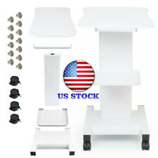 Iron White Trolley Stand For Cavitation Rf Beauty Slim Machine Assembled Trolley
