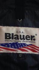 BLAUER - U.S.A. - giubbotto leggero con cerniera cintura 5 tasche - TG. 12 anni